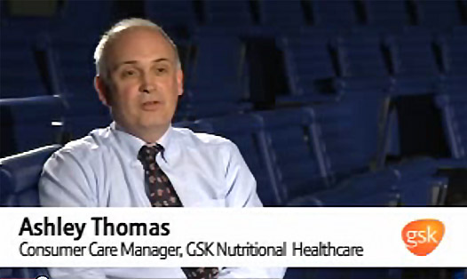 Ashley Thomas - Consumer Care Mgr GSK Nutritional Healthcare