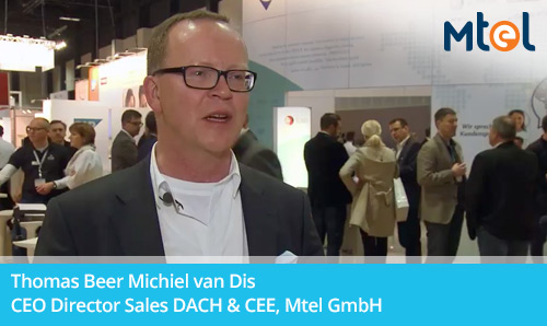 Thomas Beer Michiel van Dis CEO Director Sales DACH & CEE, Mtel GmbH