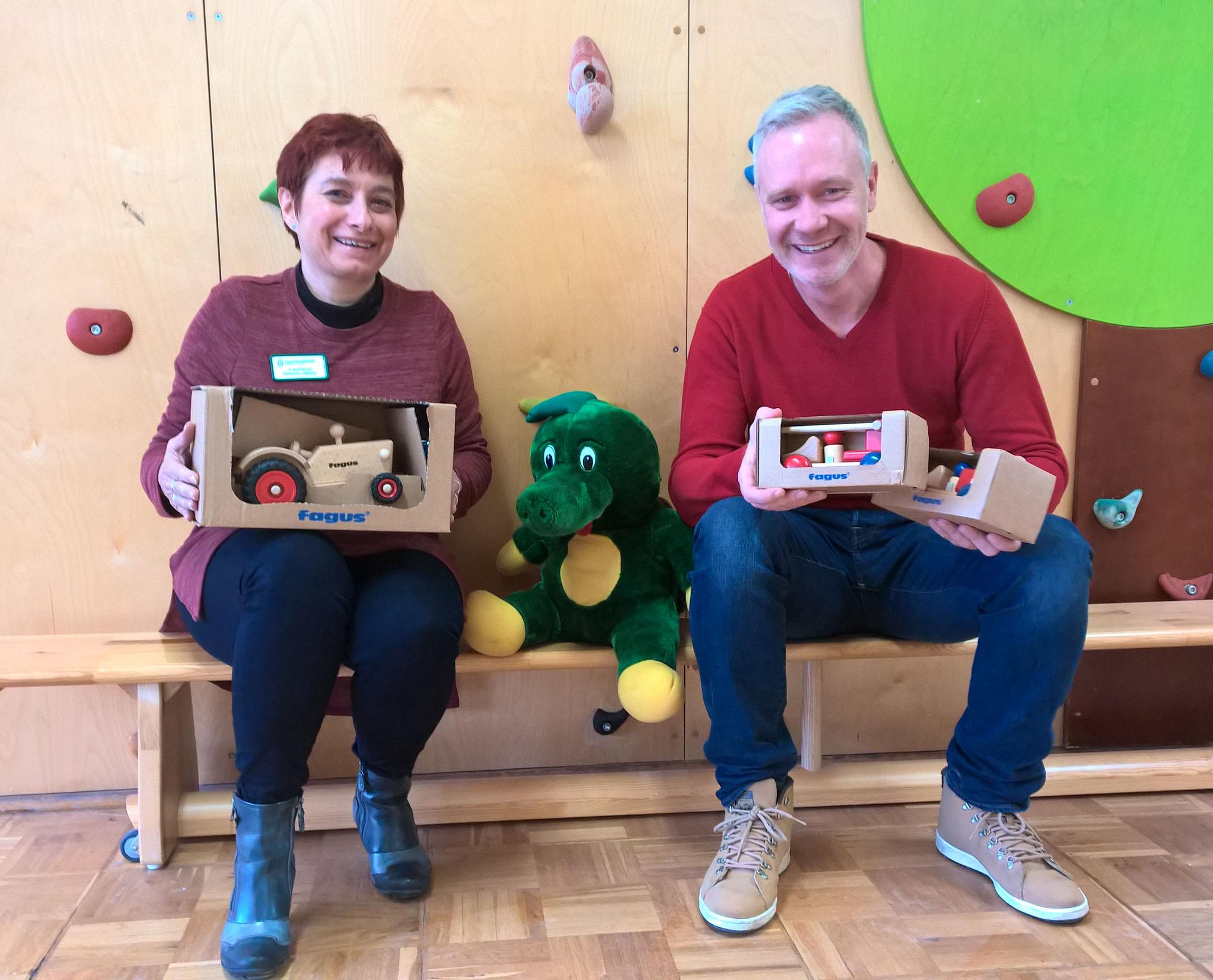 Holzspielzeug für das Tabaluga Kinderheim