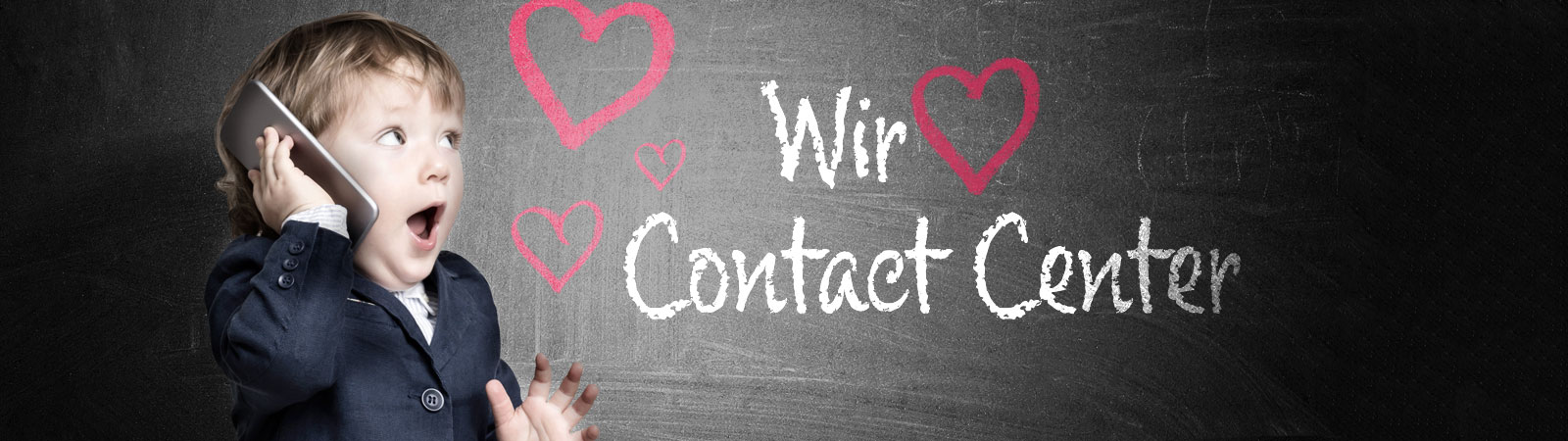 Wir lieben Contact Center!
